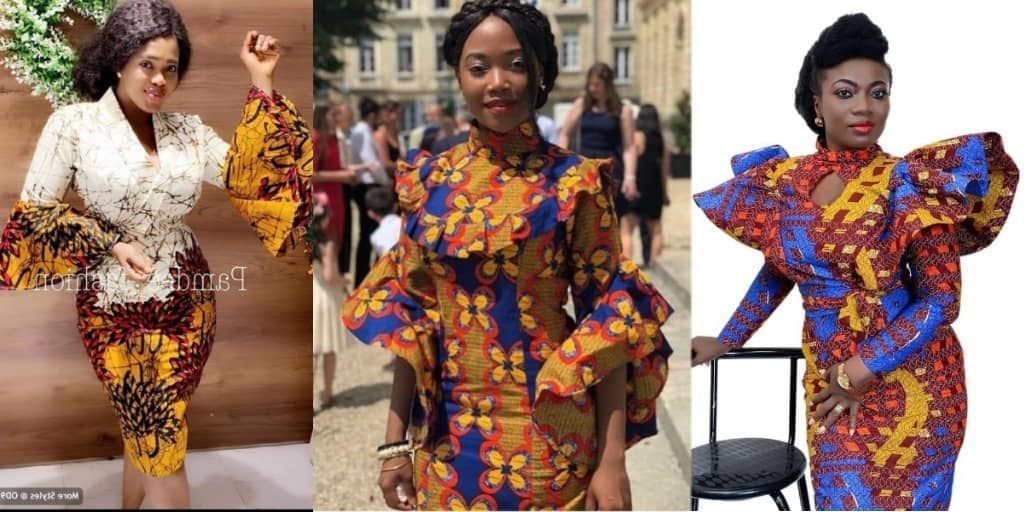 12 PHOTOS Well-Formed Ankara Styles For Ladies - Latest African Fashion Design Ideas 2021