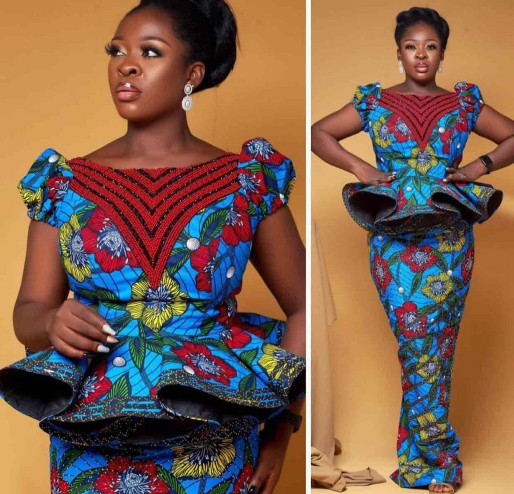 Attractive African Fashion Designs - New Ankara Fashion Styles For Ladies