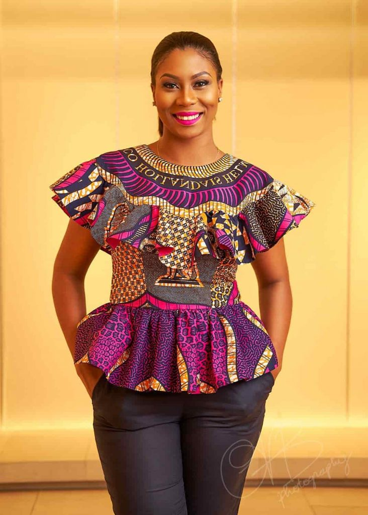Glamorous Ankara Tops For Swag Ladies - Dollish African Fashion Designs To Try On