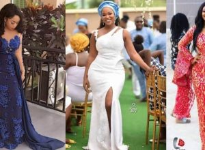 Magnificent African Fashion Designers - Asoebi Dress Styles For Church, Wedding & Engagement
