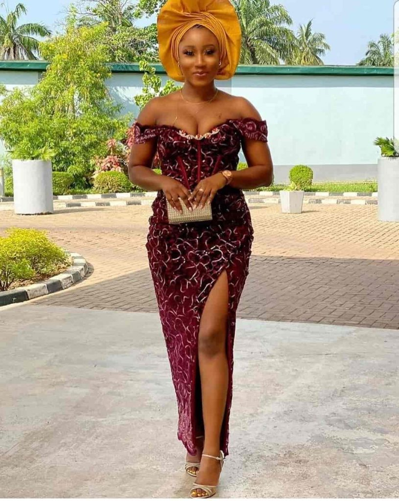 Magnificent Aso Ebi Dress Styles For Women - Asoebi Fashion For Weddings & Engagements 2021