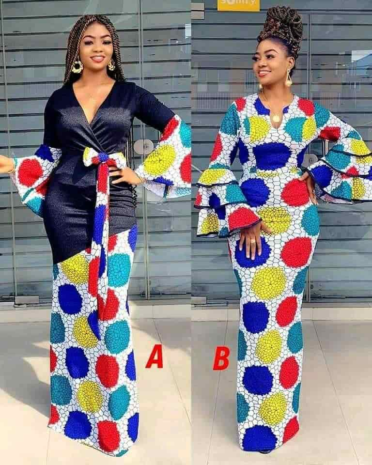 PHOTOS: Amazing Ankara Styles For Women - Nice-Looking African Print Designs For Church