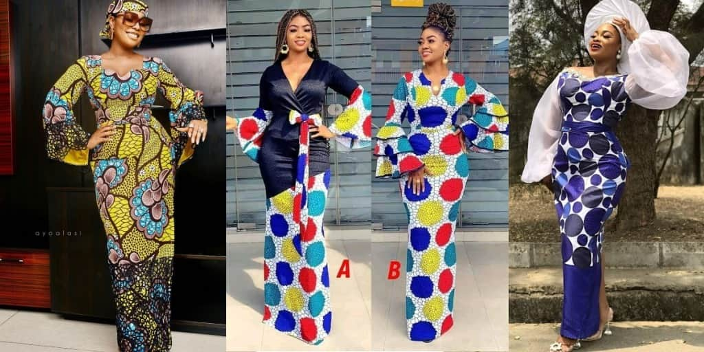 PHOTOS Amazing Ankara Styles For Women - Nice-Looking African Print Designs For Church