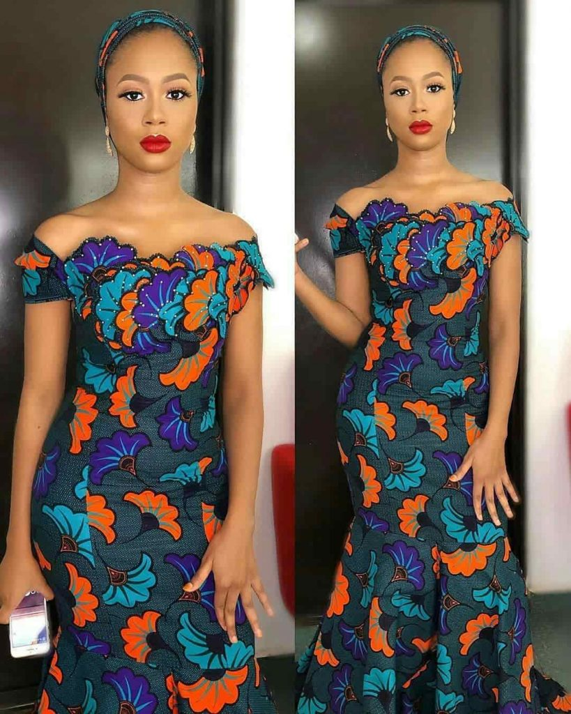 PHOTOS Beautiful Ankara Dress Styles For Ladies - Latest & Trending African Vibes 2021
