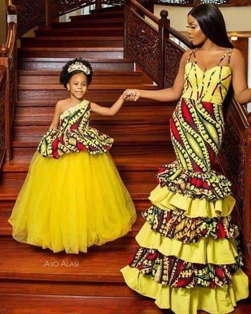 12 PHOTOS Gorgeous Mommy Daughter Dresses - Latest African Fashion Designers 2021