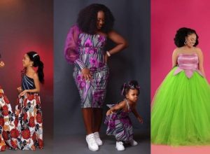 12 PHOTOS Unique Mommy Daughter Dresses (Ankara & Asoebi) - Magnificent African Fashion Designers 2021