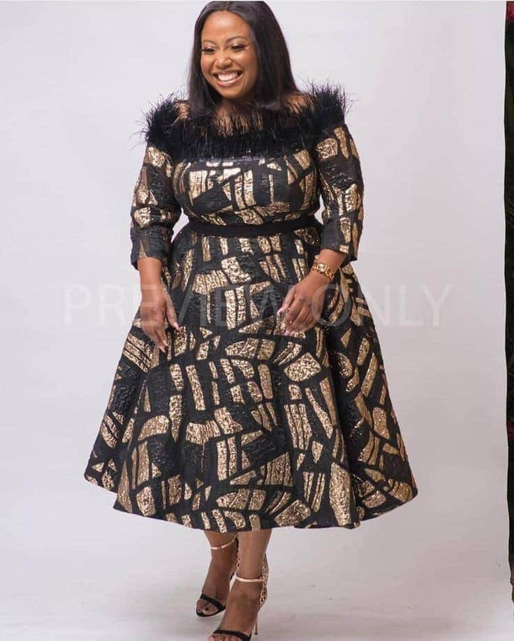 Amazing African Fashion Designs For Women (New African Prints) - Descent Ankara Styles For Church