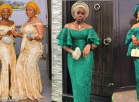 PHOTOS Classy Asoebi Styles For Weddings, Birthday Parties & Engagements 2021