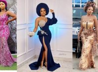 PHOTOS Glamorous Asoebi Styles For Women - Lovely African Fashion Dresses For Weddings & Engagements