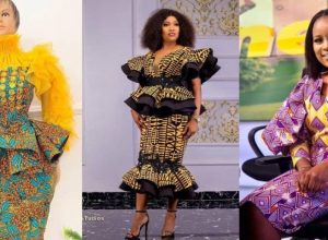 PHOTOS Gorgeous Ankara Dress Styles For Women - African Print Outfits Inspiration 2021