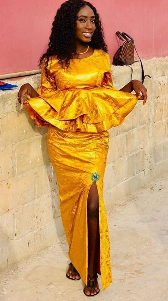 PHOTOS Latest African Fashion Designs For Women - Classy-Looking Ankara & Asoebi Dresses 2021