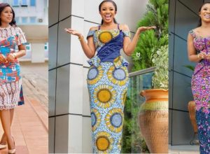 PHOTOS Latest Ankara Fashion Styles By Ghana Female Celebrities - New African Dresses Inspiration