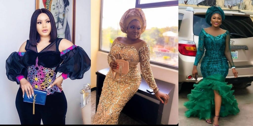 PHOTOS Nice-Looking Asoebi Fashion Styles For Ladies - African Dresses For Wedding & Engagements 2021