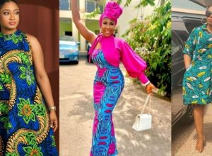 PHOTOS Unique Ankara Dress Styles For Women - New African Fashion Vibes To Try On 2021