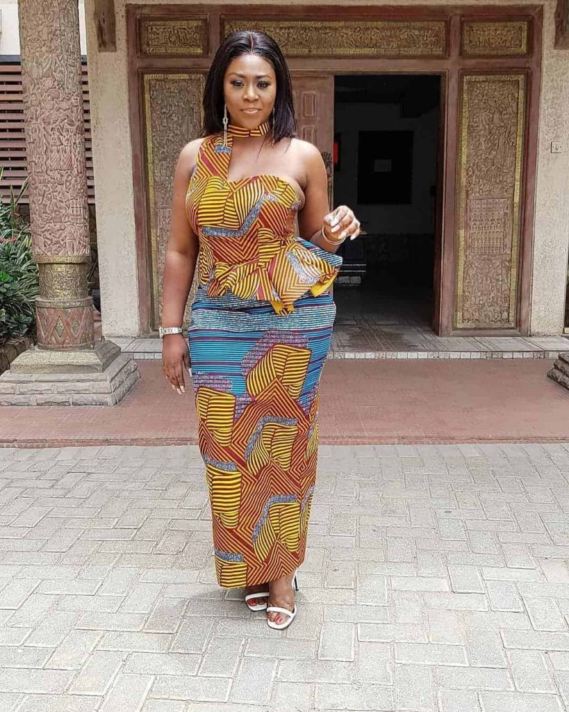 Elegant Ankara Skirt and Blouse Styles for Women - Latest African Fashion Designs For You.