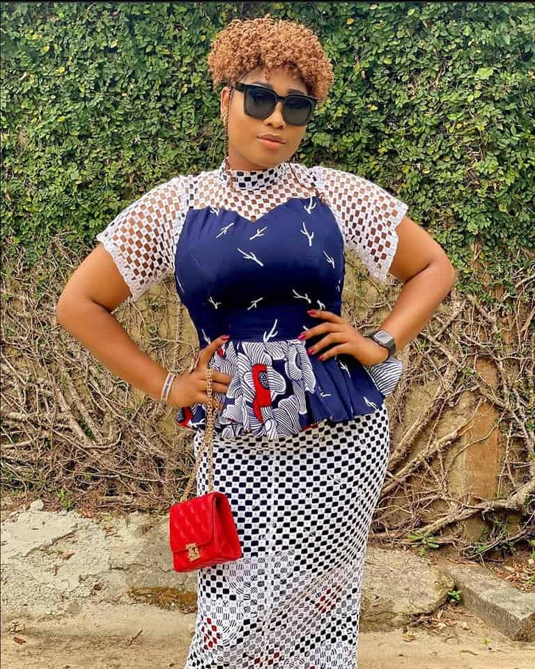 Impressive & Fashionable Ankara Styles Skirt & Blouse You Need To See