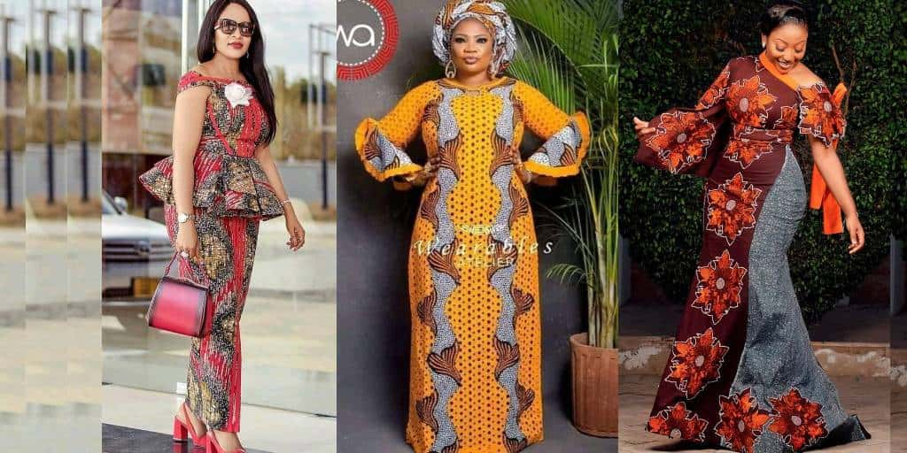 IMAGES Blameless African Latest Church Dresses Styles.