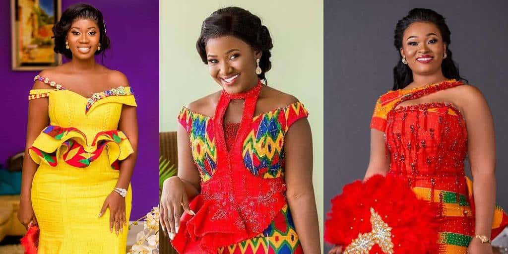 IMAGES Cute Traditional Wedding Designs (Kente Styles)