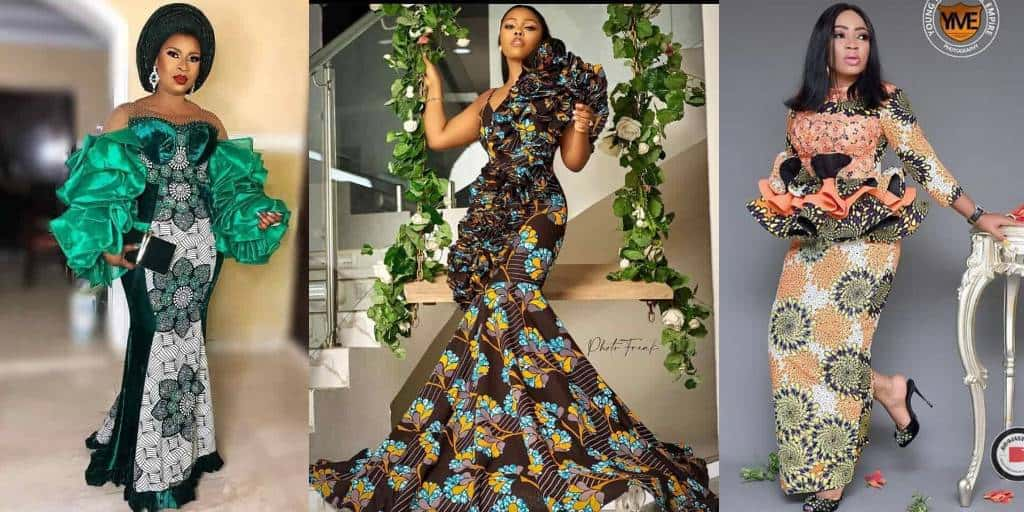 IMAGES Super Creative African Wedding Fashion Wears.