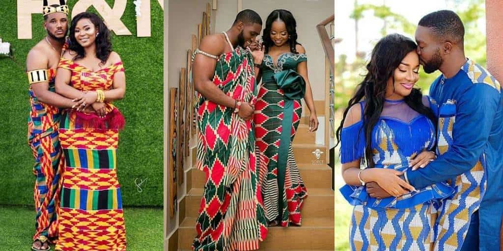 IMAGES The Best African Kente For Marriage Couples.