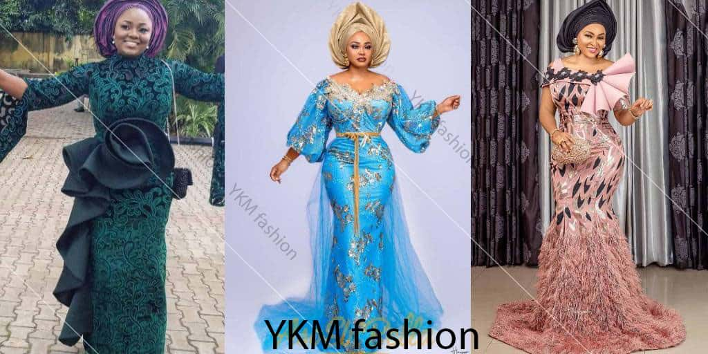 IMAGES The Best Aso Ebi Fashion Wears For Wedding Programs.