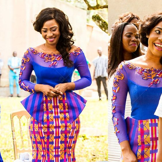 IMAGES The Best Kente Fashion Outfits For Marriage.