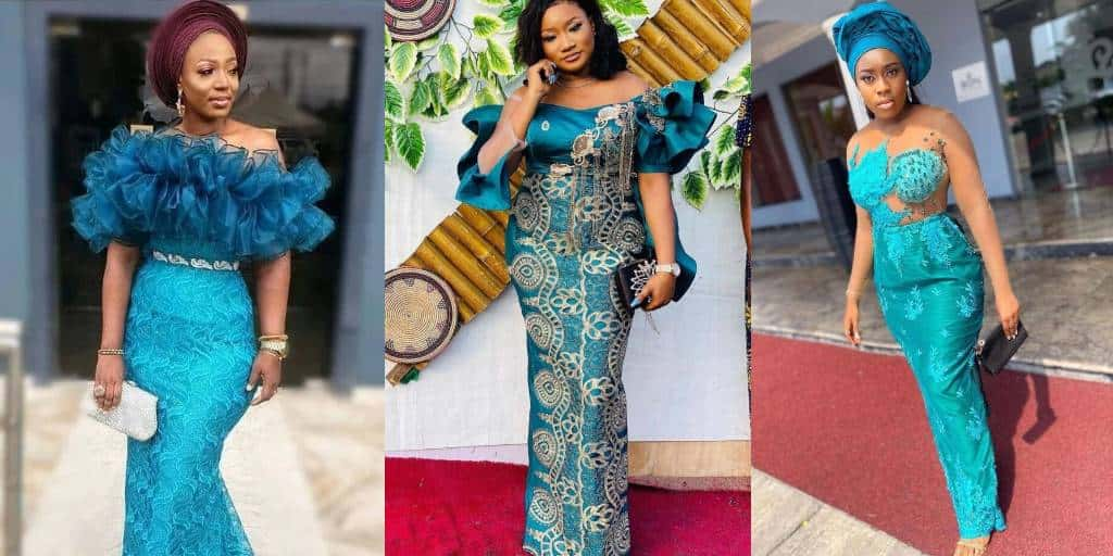 IMAGES The Best Latest Aso Ebi Fashion Designs Outfits. (5)