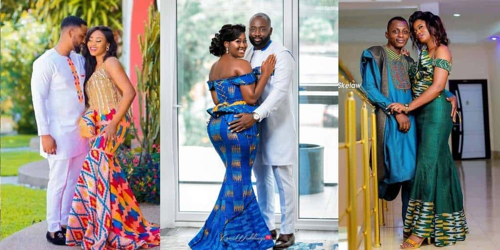 African Couple Fashions Designs After Wedding Fashion Styles