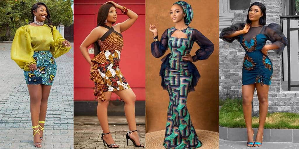 Different Attractive Ankara Outfits You Have Been Looking For. Lady's Dresses