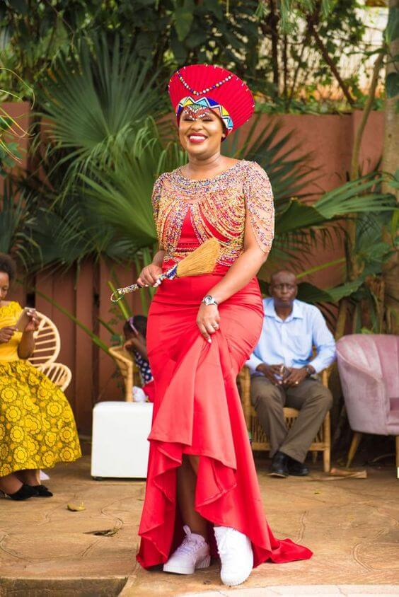 Fascinating Zulu South African Wedding Fashion Dresses For Couples