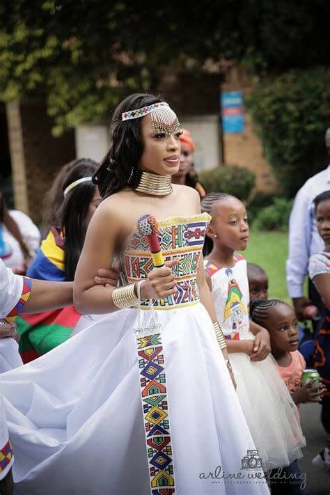 Fascinating Zulu South African Wedding Fashion Dresses For Couples.
