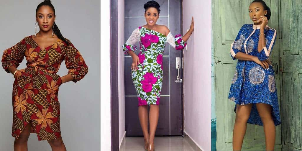 Nice Simple Outfit Fashion Styles Ladies Dream Ankara Gowns.