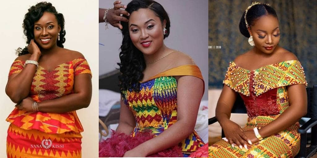 PICTURES Lovely Kente Styles For Women - African Fashion Designs 2021