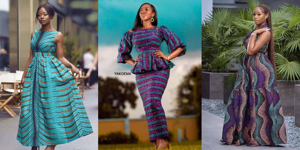 Simple & Beautiful Church Outfits With Blossom Designs.