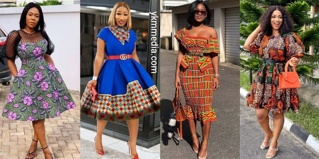 Aesthetically-Pleasing Lady Wears - Simple African Fashion Design And Styles