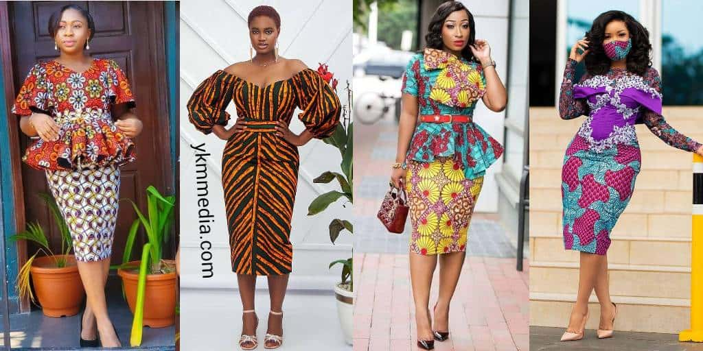 African Outfits Designs For Ladies - Pretty Design Dresses For Church & Office