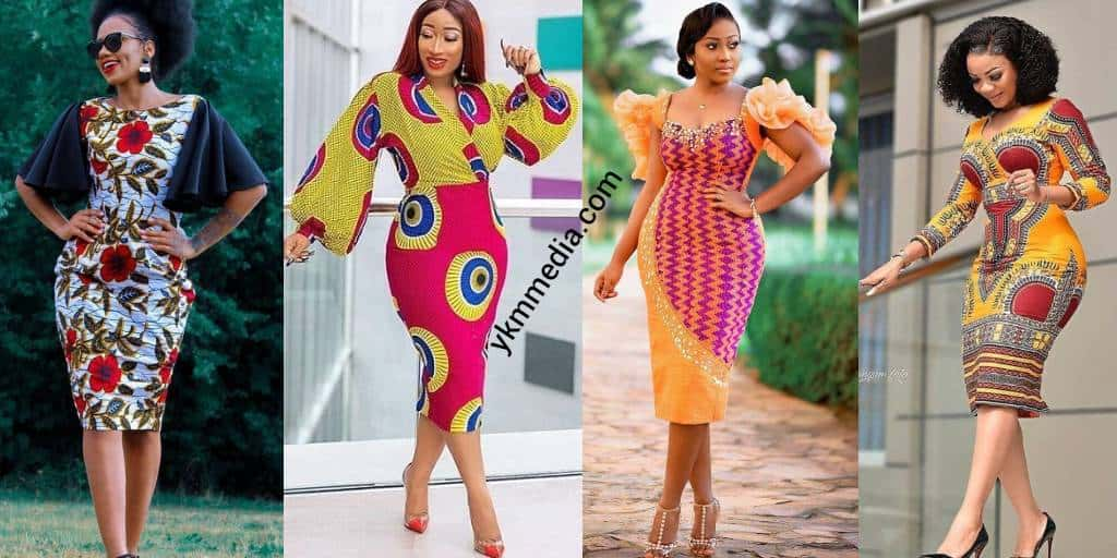 African Outfits Designs For Work Office. Simple & Cute Designs For Ladies