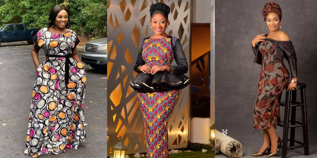 Ankara Styles on Another Level - Trendsetting Urban Dress You'll Love