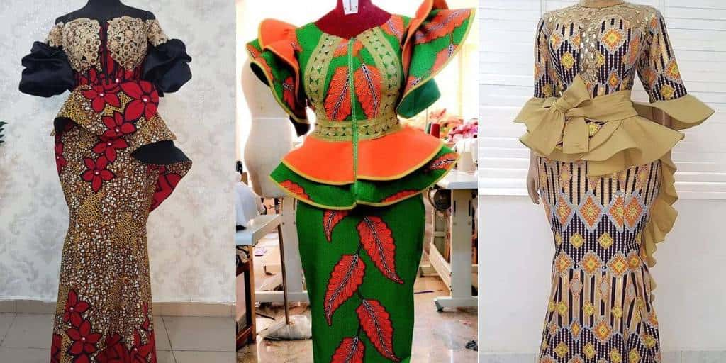 Awesome Ankara Designs With Fashion Styles For Women. Modern Dress