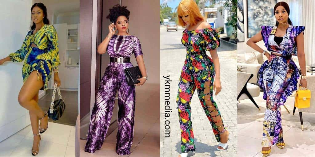 Jumpsuits And Romper African Fashion - Patent Clothing Wear For Beach