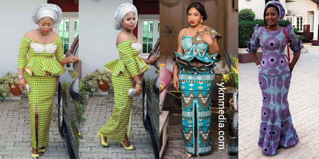 Long Straight Gown For WomenLadies - Smart Ankara Dress Styles