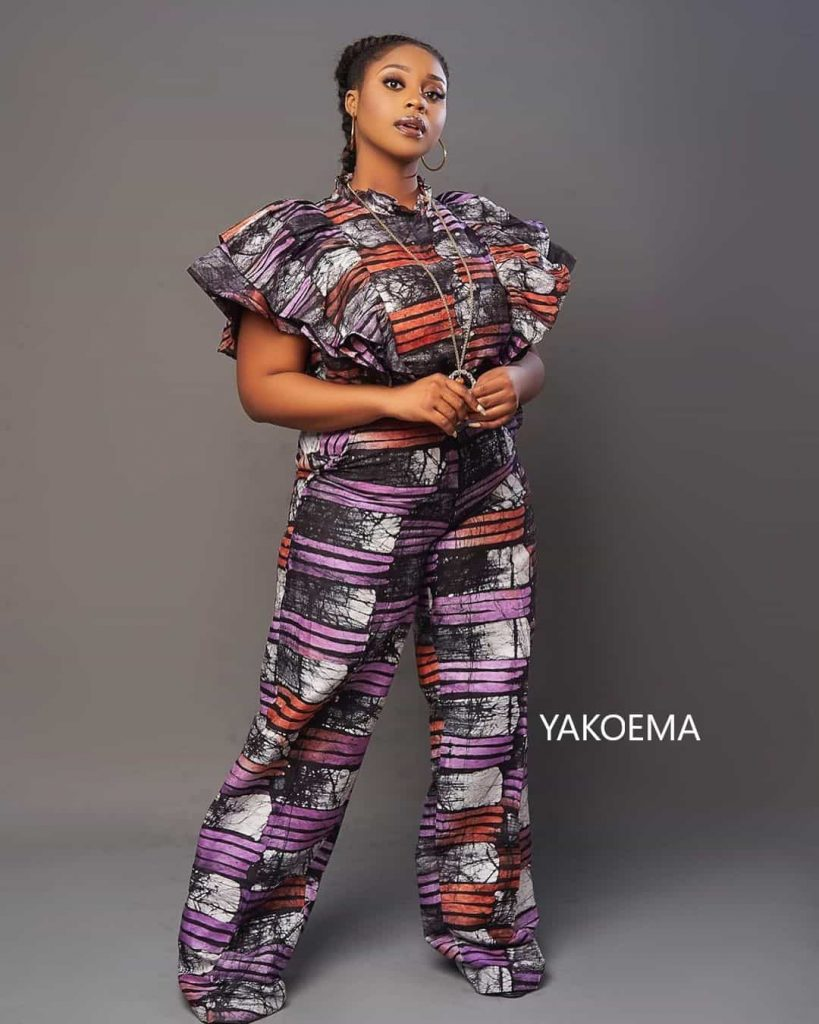 Simple Pant Suit Dress For Ladies - Pretty African Wears, The Best Vibes