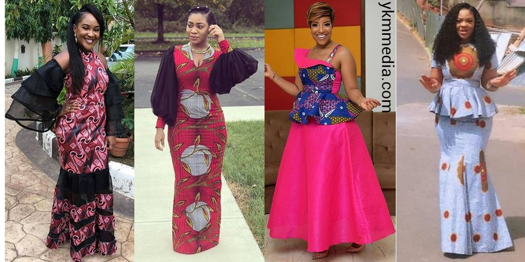 Blameless Church Dresses For Ladies - Decent African Wears For Worship