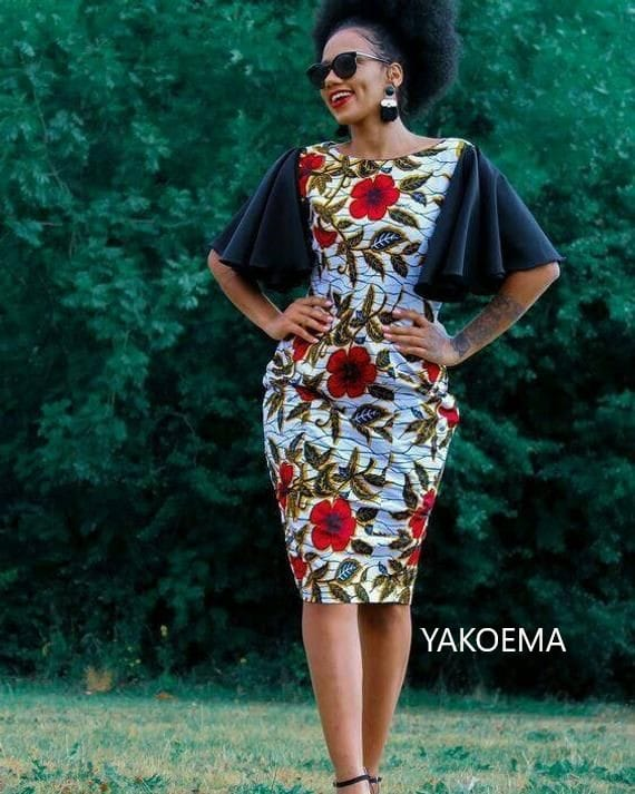 Cute Ankara Short Dresses For Ladies You Can't-Wait To See - Women Clothing Wears