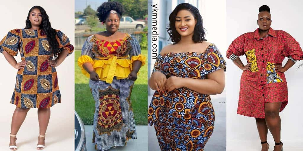 Exclusive Plus Size Dress Codes - Nice African Fashion Wears For Fat Women