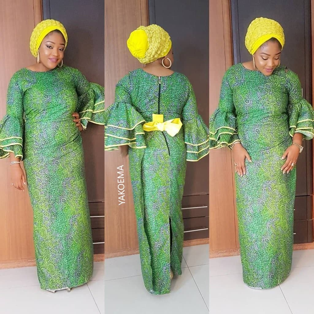 Special Balanced Creative Dress Styles - Vibrant African Wears For Church