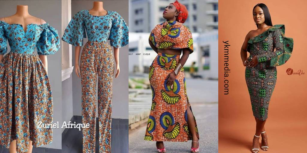Supreme Ladies' Dresses For The Year - Pure African Fashion Designs