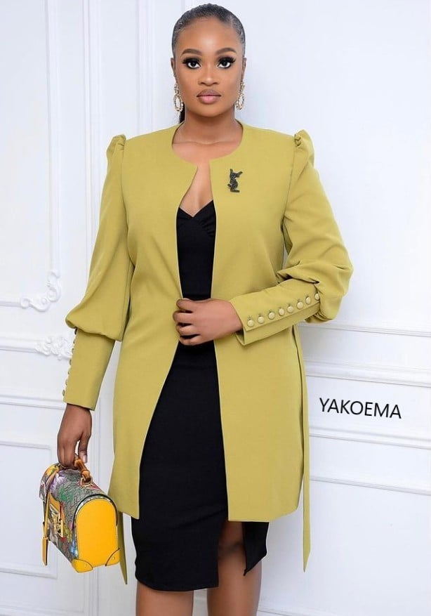 Casual Fashion Designs For  Work - Exclusive African Dress Code For Ladies.
